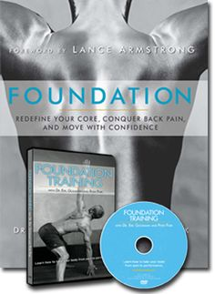 Foundation Training workouts are amazing for treating chronic back pain through strengthening your core.