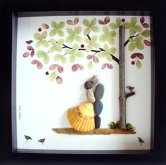 Einzigartiges Hochzeitsgeschenk, Hochzeit Geschenk Pebble Kunst, einzigartiges Engagement Geschenk, einzigartige Hochzeitsgeschenk personalisiert PAAR Geschenk, Braut und Bräutigam Geschenk, Hochzeitsgeschenk, des Paares Geschenk Liebe Geschenke, Pebble Art zu feiern und schätzen den besonderen Anlass; ein außergewöhnliches Geschenk, das für viele Jahre geschätzt wird.  ✿ Original Kiesel-Art mit einem Sinn für Romantik, Geheimnis und Magie. ✿ Kommt in 8 x 8 Zoll schwarz Shadow Stil…