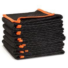 e9b4d4de4f Heavy-Duty Padded Moving Blankets (6-Pack)