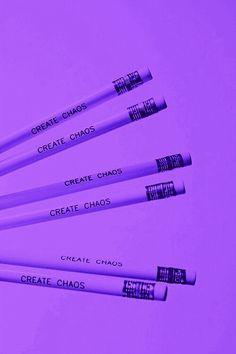 Create    Creation    Chaos    Pencils    Creative    Writing    Purple    Aesthetics   