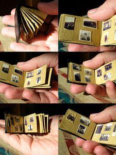 Miniature Photo Album... Yeah right!
