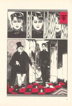 Illustration by Suehiro Maruo (Japanese manga artist)