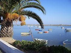 Cabanas de Tavira - beach promenade. Algarve / Portugal