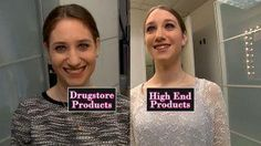 "24-Hour Makeup Challenge: Drugstore vs. Department Store Mascara, eyeliner, eye shadow, foundation and lipstick were put to the test in a series of ""GMA"" challenges."