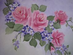 paintings of purple flowers | Request a custom order and have something made just for you.