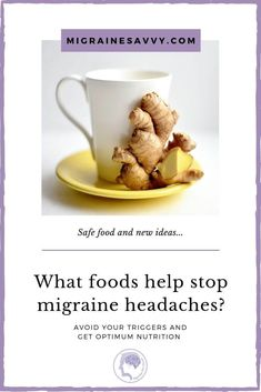 Migraines and Food: How To Use Food To Prevent Attacks Remedies For Migraine Headaches, Migraine Diet, Chronic Migraines, Migraine Relief, Migraine Pressure Points, Acupressure Points, Foods To Avoid, Asthma
