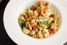 Shrimp and Goat Cheese Pasta Recipe – 6 Points   - LaaLoosh
