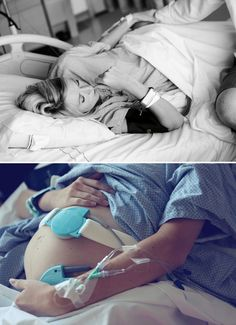 Pictures to take at the hospital when having a baby--the entire post is simply pictures and it tells the entire story. Need to do this one day