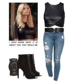 Hanna Marin - pll / pretty little liars by shadyannon on Polyvore featuring polyvore moda style River Island Balenciaga Givenchy fashion clothing