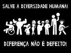 """INCLUSÃO SOCIAL: ONG """" Ser diferente é normal """""""