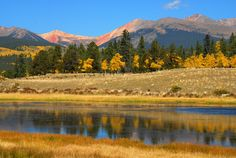 Kenosha Pass, Colorado photo | Kenosha Pass, pond, Hwy 285 Colorado