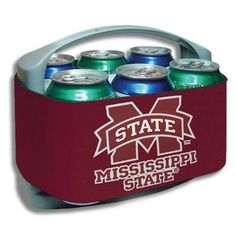 Mississippi State Bulldogs Cool Six Cooler  @Fanatics    #FanaticsWishList