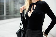 Allblackeverything Club Outfit – Glitter and Techno // Marina Tureczek Club Outfits, My Outfit, Techno, Glitter, Blazer, How To Wear, Jackets, Color, Fashion