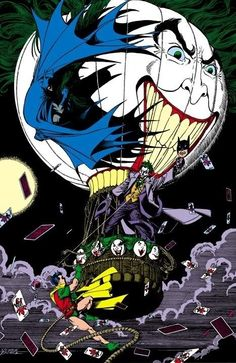 Batman and The Joker by George Perez