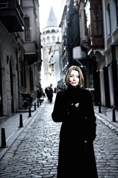 Elif Şafak in Galata • just beside http://istanbulplace.com/apartments/pasha-place/