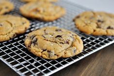 Salted Peanut Butter Cup Chocolate Chip Cookies // mels kitchen cafe