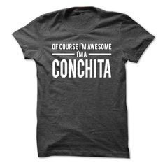 Team CONCHITA - Limited EditionIf youre a CONCHITA then this shirt is for you! Whether you were born into it, or were lucky enough to marry in, show your pride by getting this limited edition shirt today. Makes a perfect gift!CONCHITA, team CONCHITA, a CONCHITA, name CONCHITA