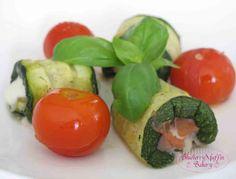 Involtini di Zucchine, prosciutto e mozzarella