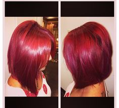 Color and haircut by Shelly! Modeling by Shannon