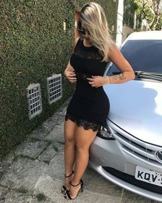 Minidress in hig heels Tight Dresses, Sexy Dresses, Cute Dresses, Celebrity Outfits, Sexy Outfits, Cute Outfits, Look Fashion, Girl Fashion, Womens Fashion