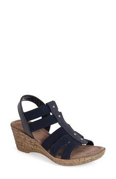 Bella Vita 'Ravenna' Studded Wedge Sandal (Women) | Nordstrom