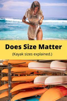 Kayak sizes can be confusing. Come find out what the length of your kayak should be. Kayak Fishing Tips, Kayak Camping, Canoe And Kayak, Sea Kayak, Canoe Trip, Bass Fishing, Fishing Boats, Kayaking Quotes, Kayaking Tips