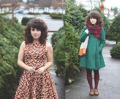 Tree shopping (by Delightfully Tacky .) http://lookbook.nu/look/4321465-tree-shopping