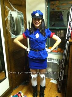 Easy Officer Jenny Costume from Pokemon… Coolest Halloween Costume Contest Summer Rain Outfits, Denim Skirt Outfit Summer, Spring Work Outfits, Powerpuff Girls Halloween Costume, Unicorn Halloween Costume, Cool Halloween Costumes, Pokemon Halloween, Pokemon Party, Midnight Blue Prom Dresses