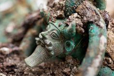 découverte exceptionnelle en France d'une tombe princière celte