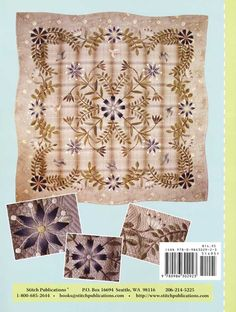Additional Images of Floral Wonder Quilt Pattern by Yoko Saito…