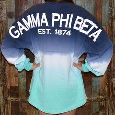 College Depot | Gamma Phi Beta Ombre Spirit Jersey