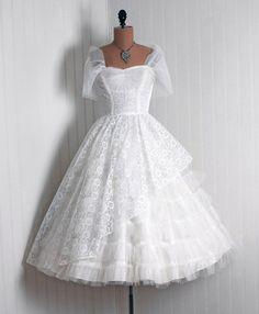 Wedding Dress1950sTimeless Vixen Vintage