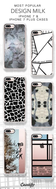 Most Popular Design Milk iPhone 7 Cases & iPhone 7 Plus Cases here > https://www.casetify.com/collections/design_milk#/