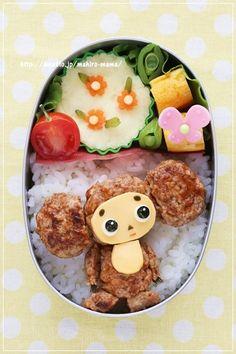IGNITION掲載*チェブラーシカのお弁当*キャラ弁|momoオフィシャルブログ「キミと一緒に ~momo's obentou*キャラ弁~」Powered by Ameba