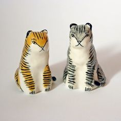 Introducing... Jen Collins, illustrator and ceramicist - I like them cos they look rather grumpy!