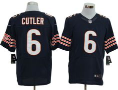 50ab0159991 Chicago Bears #6 Cutler Nike Elite Jersey in Blue ID:9701833 $23 Devonta  Freeman