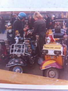 70's Scooter Clubs.