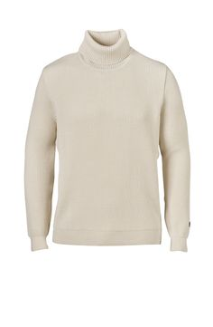 Yves Pullover in Off-white Turtle Neck, Menswear, Pullover, Shorts, Coat, Fabric, Sweaters, How To Make, Shopping