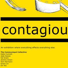 Contagious Exhibition Artwork
