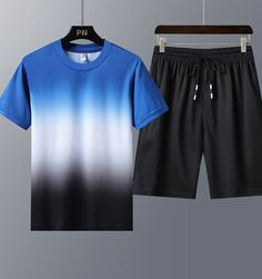 ://lztees.com/product/mens-quick-drying-leisure-sport-suit-breathable-outdoor-morning-running-exercise-suit-casual-loose-two-piece-sportswear/ Set Fashion, Hip Hop, Tracksuit Set, Morning Running, Fitted Suit, T Shirt And Shorts, Running Workouts, Sportswear, Street Wear