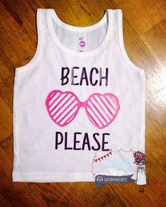 Baby Bodysuit, Beach Please, Custom, Funny, baby shower, bodysuit, summer, infant, baby, beach, tank top