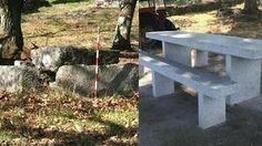 O antes e o despois da desfeita no dolmen de Ardeleira, en San Cristovo de Cea /Grupo Ecoloxista Outeiro