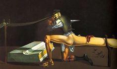 L'énigme de Guillaume Tell (1933)  Huile sur toile 201,5×346 cm,  Salvador Dali