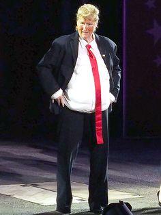 See Meryl Streep Dressed as Donald Trump : People.com