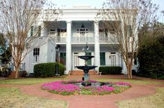 Sturdivant Hall in Selma, AL, one of the best antebellum homes ever. This is the back entrance.
