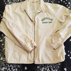 30f15eb2b11 Dm with any questions This is a SUPER RARE vintage, 1950s Champion jacket!  Its. Depop
