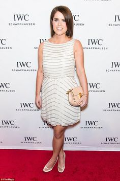 Princess Eugenie looked glamorous at the For The Love Of Cinema dinner in New York City on Thursday, 16 April, during the Tribeca Film Festival