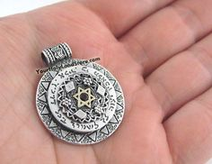 Protection Pendant with Star of David
