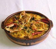 Горшочек морепродуктов Вкусные рецепты испанской кухни. Средиземноморская кухня