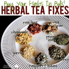 How to brew your own herbal tea.